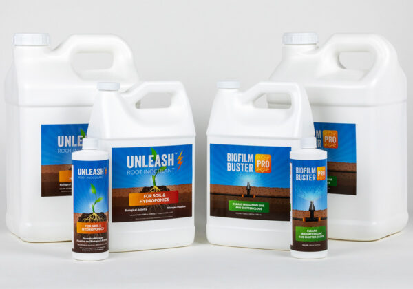 Biofilm Buster Pro Unleash Biostimulant Bottles